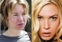 Where is natural beauty? / makeup beauty actors surgery plastic