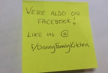 We love to eat and cook! / by Disney Family Kitchen