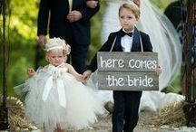 Flowergirl & Ringbearer / For the little folk at weddings.