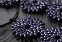 Exclusive Collection / Elegant Jewellery Collection made of New Czech two-hole PRECIOSA Twin™ seed bead.