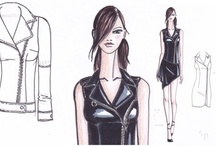 My fashion drawings / my fashion drawings, graphics and works