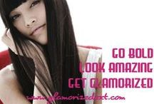 GLAMORIZEDEXT.COM / FUSION HAIR EXTENSIONS EUROPEAN * INDIAN * BRAZILIAN   20in. to  30in. COLD & HOT FUSION EXTENSIONS
