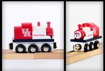 Houston Cougars / Things we like for Cougar fans! / by College Team Trains