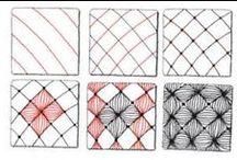 Zentangles, doodles, .....