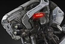 Sci-Fi, Robot