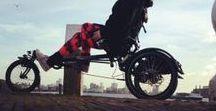 Driewielligfiets - Salami stinkt / Fietsen op een gewone fiets gaat helaas niet meer, maar met deze Hase Lepus Comfort driewielligfiets kan ik ineens zoveel meer kanten op!