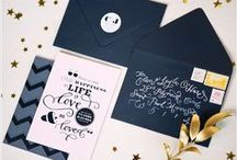 Inviter en Style / Invite in Style / by La Crafterie