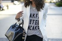 Style Looks I Love / Fashion fades, style is forever.  / by Alexandra Grada