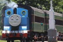 Day Out with Thomas™ / Our favorite blue engine visits us every July.  Here are some photos from our 2013 event.  Thanks to Sisson Photography for these pictures!