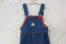 Vintage Baby + Kids Clothes / Adorable Vintage clothing for kids!