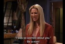 Phoebe Buffay wants a man!! / In this scene we see Phoebe complaining about someone she is dating because he is not the stereotypical alpha male.  What I find problematic with this situation is that it is because portrayals like this in the media that we get conditioned to desire certain types of people rather than anything different.