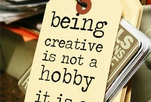 Things to make / Create, create, create, craft, craft, craft....my favourite pass time!