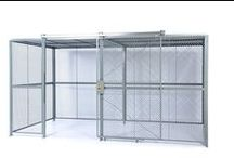 SG2000 Versatile Mesh Partitions / SG2000 wire partition systems are specially engineered for increased versatility and customization. Available with woven wire mesh, welded wire mesh, and expanded metal. SG2000 is a stackable system which is easy to install and can accommodate any height requirements. With this product's highly customizable nature, it is able to meet a wide array of specs (DEA, DOD, Military/Gov't).
