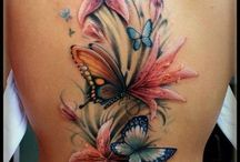Butterfly & Dragonfly Tattoos / Tattoos