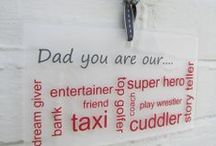 Fathers Day Ideas / Fathers Day gifts and ideas #fathersday #personalisedgift #dad