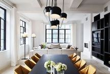 D I N I N G / A curation of beautiful dining rooms l Design and style ideas to create a dining room you love