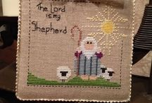 My cross stitch obsession / Ornaments I have stitched and finished.