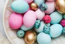 E A S T E R / Easter styling, DIYs and ideas l Table settings and photos of beautifully styled spaces...