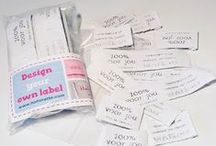 Labels / Mijn diverse labeltjes