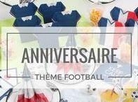 Football Party / Voici quelques idées pour décorer votre table, pour un anniversaire sur le thème du football ou une soirée entre amis à l'occasion de l'Euro 2016.