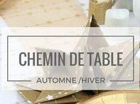 Chemin de table Noël & réveillon