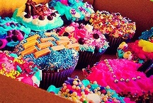 Sweets, cakes and food