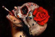 Santa Muerte pieces
