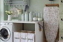 Inspiration - Buanderie / Idées de rangement, idées de déco pour la buanderie / inspiration for laundry room