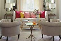Inspiration - Salon / Idées de décoration pour nos salons / inspiration for our living rooms