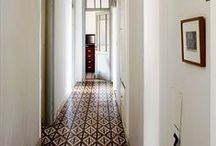 Inspiration - Couloir / Inspiration pour le couloir / inspiration for our corridor
