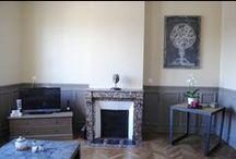 RoMax - Petit Salon / Voici quelques photos de notre petit salon. Couleurs chaleureuses et lumineuses : taupe et beige doré.