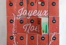 Noël - Calendrier de l'Avent / Idées de calendrier de l'Avent à remplir soit même - Some ideas to fill up our diy Advent calender