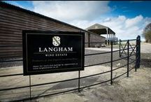 Langham Wine Estate / This English vineyard and winery in Dorset produces award-winning sparkling wine.