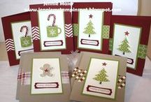 Stampin' Up! Scentsational Season / Project ideas using Stampin' Up's retired Scentsational Season and Holiday Collection Framelits cutting dies.