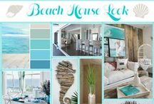 Interior: Beach House Look / Beach houses are the ultimate place to relax. Characterized by lots of light, white, wood and other natural colours and materials. Get inspirered to create this coastal style ambiance in your own interior!  | Bloomifique interior styling & home deco