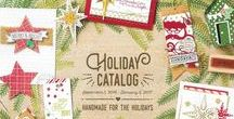 2016 Holiday Catalog Must Haves / My favorite products from the 2016 Stampin' Up! Holiday Catalog!  (And there are MANY!!!!)  This catalog has something for everyone!