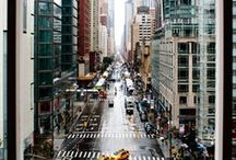 """I ❤️ NY / """"The present in New York is so powerful that the past is lost."""" - John Jay Chapman  / by Helen Raynus"""