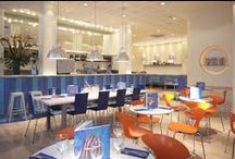 Casual Dining Lighting / with lighting schemes designed by into lighting