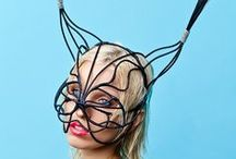 "Hats , Masks , Headdress , Headpiece ""Cant see your face"" /  Hats , Masks , Headdress , Headpiece"