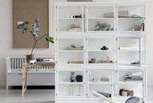glass cabinets / #Nordicdesign #Glasscabinets #Scandinaviandesign #Danish Design