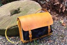 Tasker i læder / Inspiration til tasker lavet hovedsageligt af læder