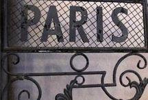 PARIS   -  FRANCIA / by Martha Cafaro