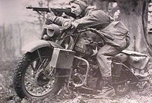 Military bikes / Rus, German and others