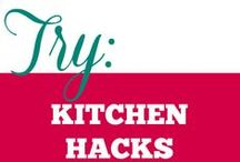 Try || Kitchen Hacks / All the interesting ideas, charts and hacks that make working in the kitchen and food management a breeze.