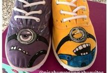 Mis zapatos / ZAPATOS PINTADOS A MANO