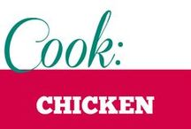 Cook || Chicken Recipes / Chicken is one of the most popular protein choices. Use chicken in all it's avatars.