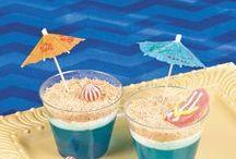 Beach Theme, Luaus & Tiki Bar Ideas