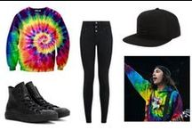 My Polyvore / These outfits were put together by me, mostly based on outfits I wear myself and inspired by some of my favorite bands