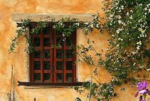 Windows and Doors / I love beautiful, misterious, inviting doors and windows... What secrets will they keep...? / by Alejandra Arnello