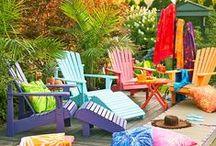 Farbenfrohes Wohnen / Lichtblicke in unserem Zuhause